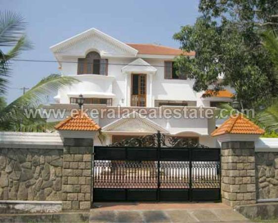 House Compound Wall Design Furnished : House for rent thiruvananthapuram kerala india